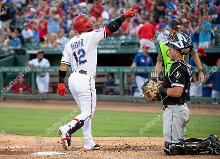 Editorial photo of White Sox Rangers Baseball, Arlington, USA - 21 Jun 2019