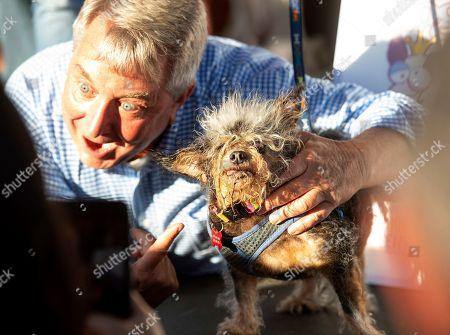 Editorial photo of Worlds Ugliest Dog, Petaluma, USA - 21 Jun 2019