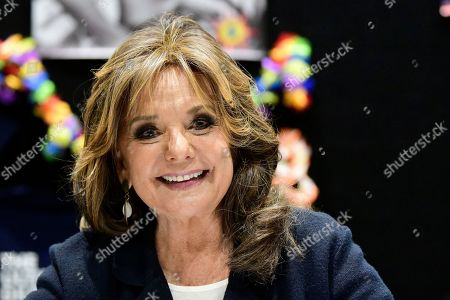 Dawn Wells poses for a photograph during the Sydney Supanova Comic Con and Gaming Expo 2019at Sydney Showground Olympic Park, in Sydney New South Wales, Australia, 22 June 2019. The pop culture expo -- running in Sydney from 21 to 23 June 2019 before heading to in Perth, Adelaide, and Brisbane -- celebrates film, television, fantasy, comic books, anime, science fiction, cartoons, books and gaming.