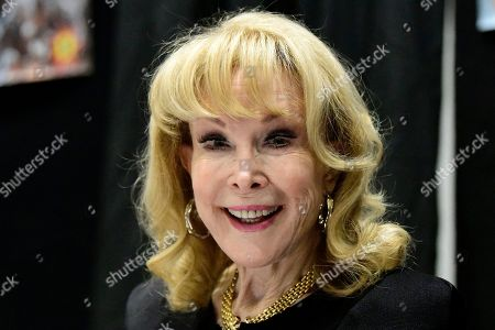 Barbara Eden actress Barbara Eden poses for a photograph during the Sydney Supanova Comic Con and Gaming Expo 2019at Sydney Showground Olympic Park, in Sydney New South Wales, Australia, 22 June 2019. The pop culture expo -- running in Sydney from 21 to 23 June 2019 before heading to in Perth, Adelaide, and Brisbane -- celebrates film, television, fantasy, comic books, anime, science fiction, cartoons, books and gaming.