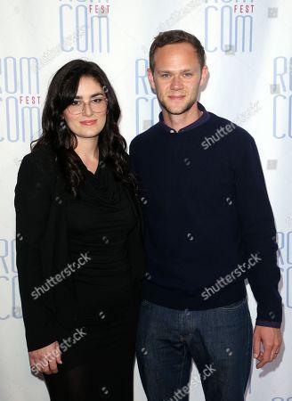 Stock Image of Audrey Tommassini and Joseph Cross