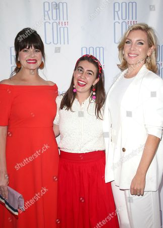 Casey Wilson, Miraya Berke and June Diane Raphael