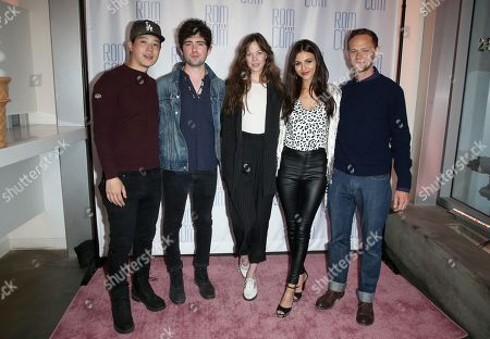 Hayden Szeto, Ian Nelson, Analeigh Tipton, Victoria Justice and Joseph Cross