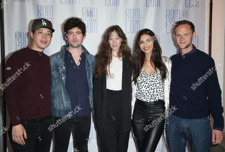 Stock Picture of Hayden Szeto, Ian Nelson, Analeigh Tipton, Victoria Justice and Joseph Cross