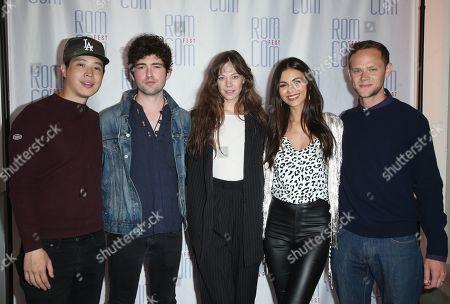 Hayden Szeto, Ian Nelson, Analeigh Tipton, Victoria Justice and Joseph Cross