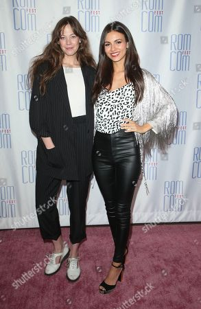 Stock Photo of Analeigh Tipton and Victoria Justice