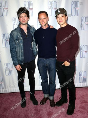 Ian Nelson, Joseph Cross and Hayden Szeto