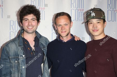 Stock Image of Ian Nelson, Joseph Cross and Hayden Szeto