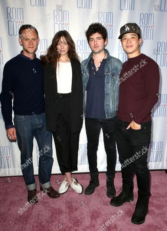 Stock Image of Joseph Cross, Analeigh Tipton, Ian Nelson and Hayden Szeto