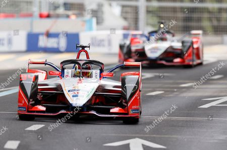 German driver Pascal Wehrlein of Mahindra Racing competes during the first training session of the Formula E Swiss E-Prix in Bern, Switzerland, 22 June 2019.