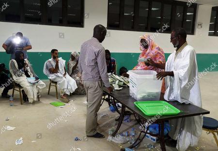 Editorial photo of Mauritania presidential election, Nouakchott - 22 Jun 2019