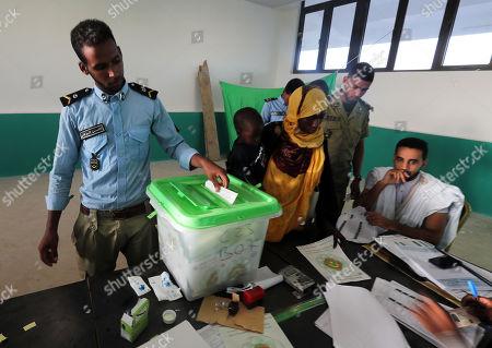 Editorial picture of Mauritania presidential election, Nouakchott - 22 Jun 2019