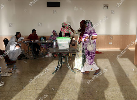 Editorial image of Mauritania presidential election, Nouakchott - 22 Jun 2019