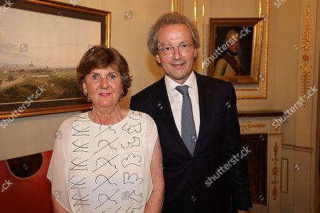 Helga Rabl Stadler and Franz Welser-Möst