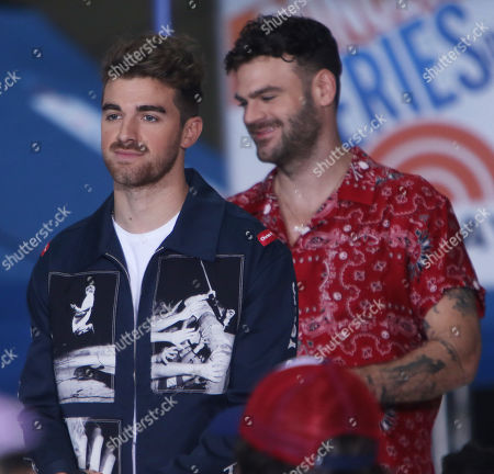 Andrew Taggart, Alex Pall, - The Chainsmokers perform with special guests at the NBC Today Concert Series