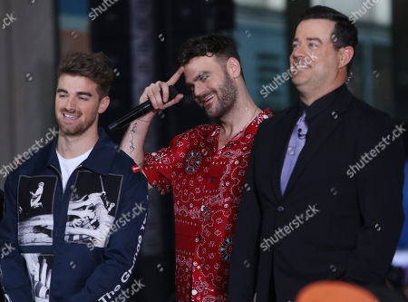Andrew Taggart, Alex Pall, Carson Daly - The Chainsmokers perform with special guests at the NBC Today Concert Series