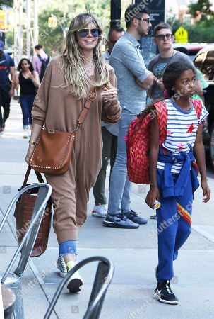 Editorial picture of Heidi Klum out and about, New York, USA - 21 Jun 2019
