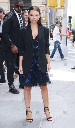 Editorial picture of Eline Powell out and about, New York, USA - 21 Jun 2019