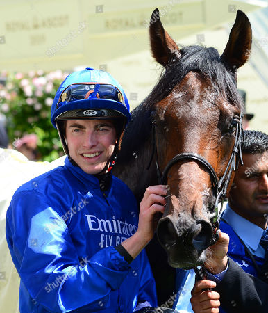 ROYAL ASCOT. Chesham Stakes PINATUBO and James Doyle win for trainer Charlie Appleby.