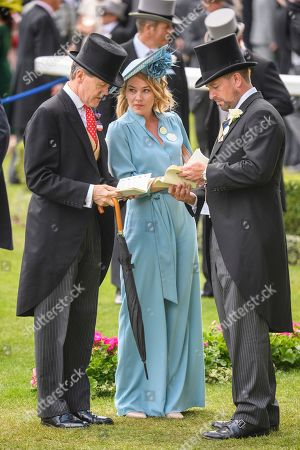 Stock Photo of Autumn Phillips and Peter Philips