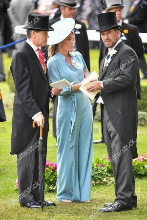 Autumn Phillips and Peter Philips