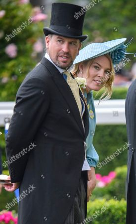 Peter Philips and Autumn Phillips