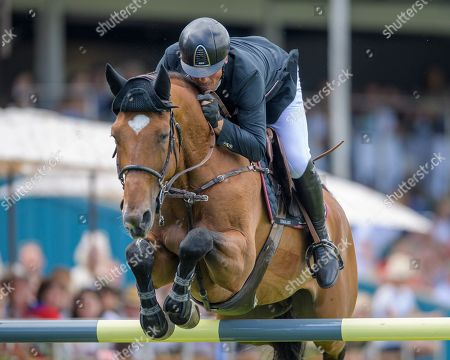 Editorial photo of The Al Shira'aa Hickstead Derby Meeting. All England Show Jumping Course, Hickstead, West Sussex, UK  - 22 Jun 2019