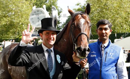 BLUE POINT and Charlie Appleby after The Diamond Jubilee Stakes Royal Ascot