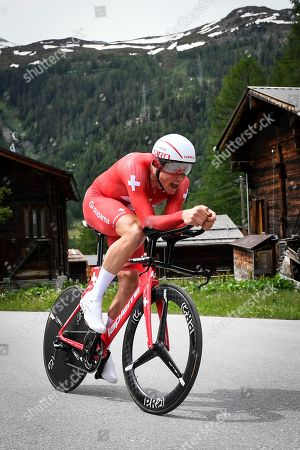 Editorial photo of 83rd Tour de Suisse cycling race, Goms, Switzerland - 22 Jun 2019