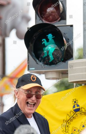 Editorial picture of Otto honored with traffic light in Emden, Germany - 22 Jun 2019
