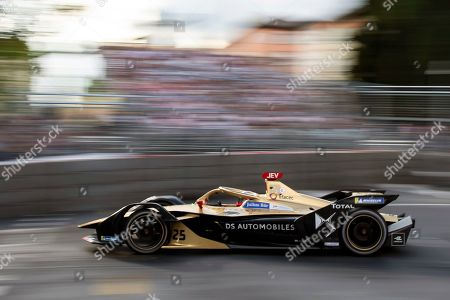 French Formula E driver Jean-Eric Vergne of the DS Techeetah Formula E Team is on his way to win the Swiss E-Prix, the eleventh stage of the FIA Formula E championship in Bern, Switzerland, 22 June 2019.