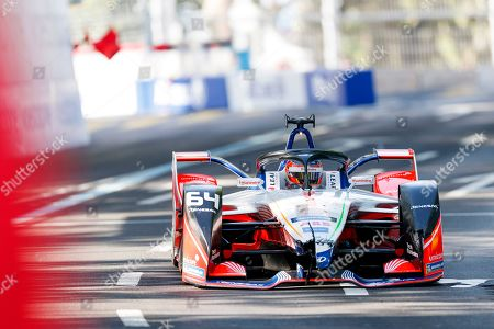 Belgian Formula E driver Jerome D'Ambrosio of the Mahindra Racing team in action during the Swiss E-Prix, the eleventh stage of the FIA Formula E championship in Bern, Switzerland, 22 June 2019.
