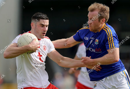 Editorial image of All-Ireland Senior Football Championship Qualifiers Round 2, Glennon Brothers Pearse Park, Co. Longford  - 22 Jun 2019