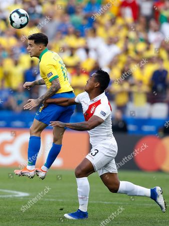 Editorial image of Soccer Copa America Brazil Peru, Sao Paulo, Brazil - 22 Jun 2019