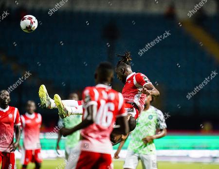 Editorial image of African Cup of Nations Football Nigeria v Buruni nd, Alexandia, USA - 22 Jun 2019