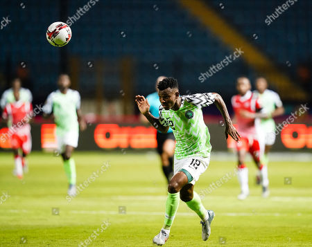 Editorial picture of African Cup of Nations Football Nigeria v Buruni nd, Alexandia, USA - 22 Jun 2019