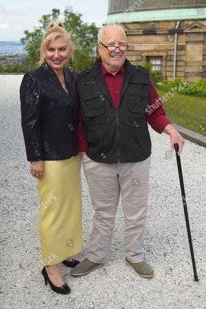 Stock Picture of Svetlana Erokhin and husband Richard Dreyfuss