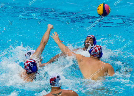 Editorial photo of FINA Men's Water Polo World League Super Final: Serbia v Croatia, Belgrade, Serbia - 23 June 2019