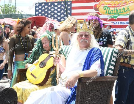 Editorial picture of 37th Annual Mermaid Parade, New York, USA - 22 Jun 2019