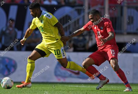 Editorial image of Gold Cup Guyana Panama Soccer, Cleveland, USA - 21 Jun 2019