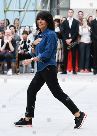 Stock Picture of Veronique Nichanian on the catwalk