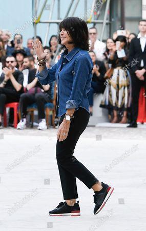 Editorial image of Hermes show, Front Row, Spring Summer 2020, Paris Fashion Week Men's, France - 22 Jun 2019