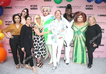Editorial image of Beverly Center x The Advocate x World of Wonder Pride Event, arrivals, Los Angeles, USA - 22 Jun 2019