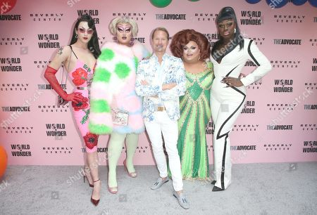 Editorial photo of Beverly Center x The Advocate x World of Wonder Pride Event, arrivals, Los Angeles, USA - 22 Jun 2019