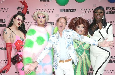 Violet Chachki, Kim Chi, Carson Kressley, Ginger Minj, Bob the Drag Queen