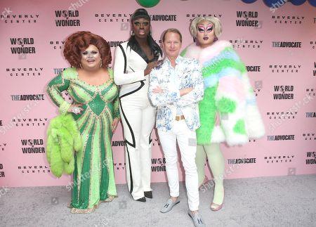 Ginger Minj, Bob the Drag Queen, Carson Kressley, Kim Chi,
