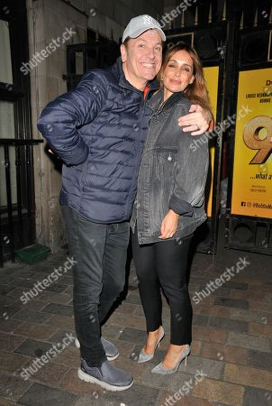 Brian Conley and Louise Redknapp