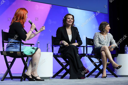 """Editorial picture of SHAPE: """"The Scully Effect is Real"""" with Geena Davis and Mayim Bialik, Burbank, USA - 22 Jun 2019"""