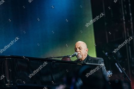Editorial image of Billy Joel in concert, Wembley Stadium, London, UK - 22 Jun 2019