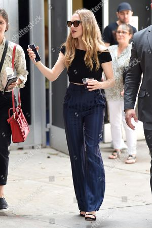 Editorial image of Amanda Seyfried out and about, New York, USA - 22 Jun 2019